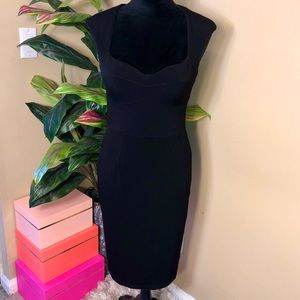 EUC Boston Proper Bodycon Heart Bust Dress